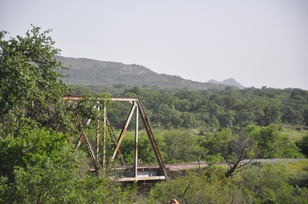 Railway Bridge in the Hill Country